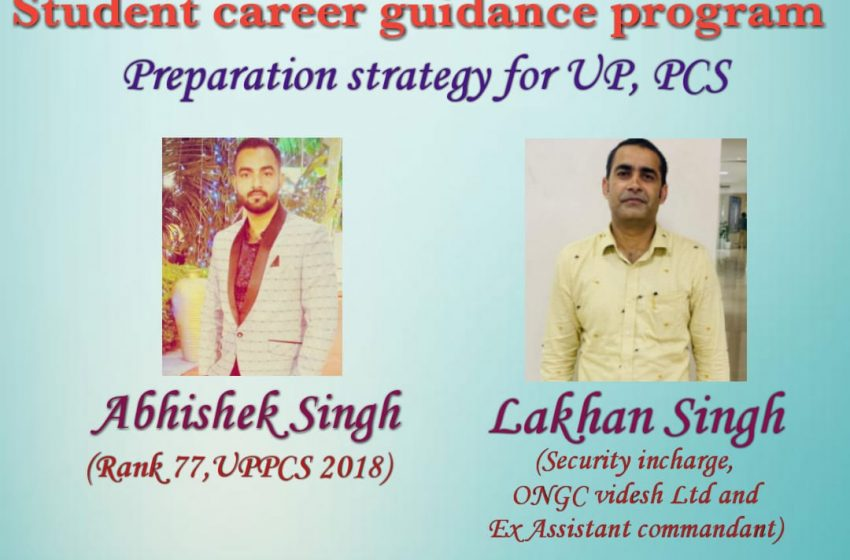 Parivartan Student Guidance Program (on 26th september ,Focus on Preparation Strategy for UP PCS)